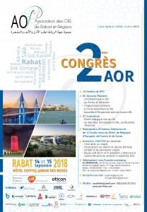 Congrès AOR 2018 @ Sofitel jardin des roses Rabat